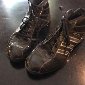 Men's Size 9 Black Adidas Athletic Shoes 👟
